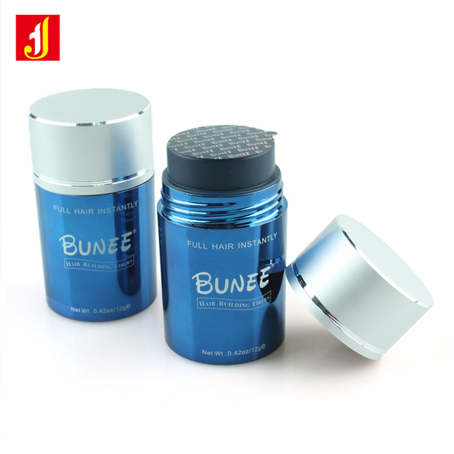 BUNEE New Product Hair Building Fiber 12g Hair Loss Treatment Cotton Hair Powder  Instant Wig Regrowth Products