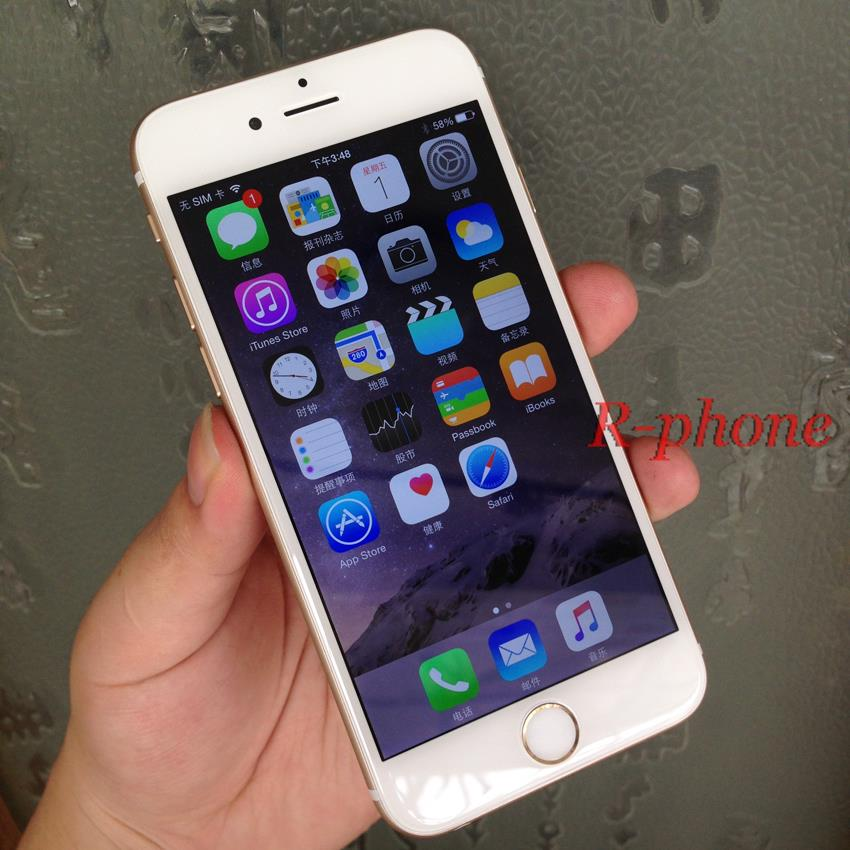 Original Apple iPhone 6 Dual Core 4.7 inch IOS 16/64/128GB ROM 1.4GHz 8 MP Camera 3G WCDMA 4G LTE Used Phone 15