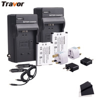 NB 11L Battery Charger Kit 2 Pack For Canon NB 11L And Canon PowerShot A2300 IS