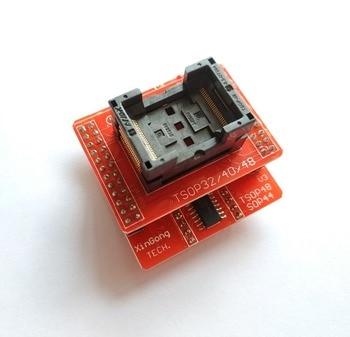 TSOP32 TSOP40 TSOP48 адаптер + TSOP48/SOP44 V3 разъем только для MiniPro TL866 TL866A TL866CS TL866ii Plus Универсальный программист