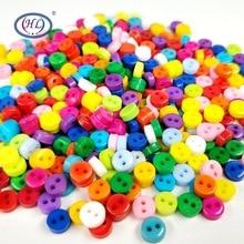 HL 6 мм 100 шт./лот круглые полимерные мини-пуговицы для шитья скрапбукинга декоративные аксессуары для одежды DIY