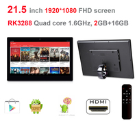 21 5 Inch Android Mega Tablet PC With Remote No Touch Rockchip3288 Quad Core 1 8Ghz
