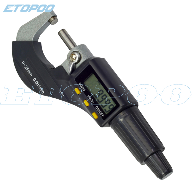 0 25mm digital micrometer electronic micrometer 0 001mm micron outside micrometer caliper gauge measuring tools cheapest