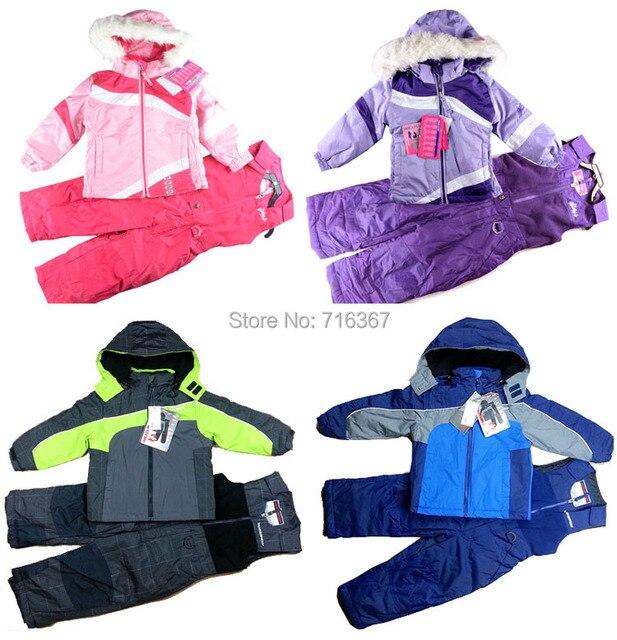 Free Shipping -children kids/baby girls/girls snowsuit, kids ski suit, kids windproof jacket, windproof pants(MOQ: 1 set)