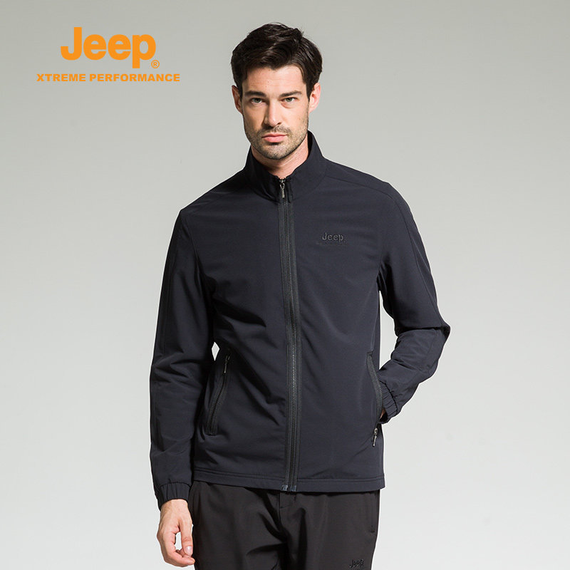 где купить Jeep Men's Spring Autumn Outdoor Camping Hiking Jackets Windproof Waterproof Breathable Windbreaker Sports Thermal Thin Jacket по лучшей цене