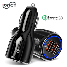 Car USB Charger Quick Charge 3 0 qc 2 0 Mobile Phone Charger 2 Port USB Fast Car Charger for iPhone Xiaomi Tablet Car-Charger cheap 9V-12V 1 5A RoHS Universal APPLE Samsung Huawei Lenovo MEIZU Sony Nokia Motorola Blackberry Other Qualcomm Quick Charge 2 0