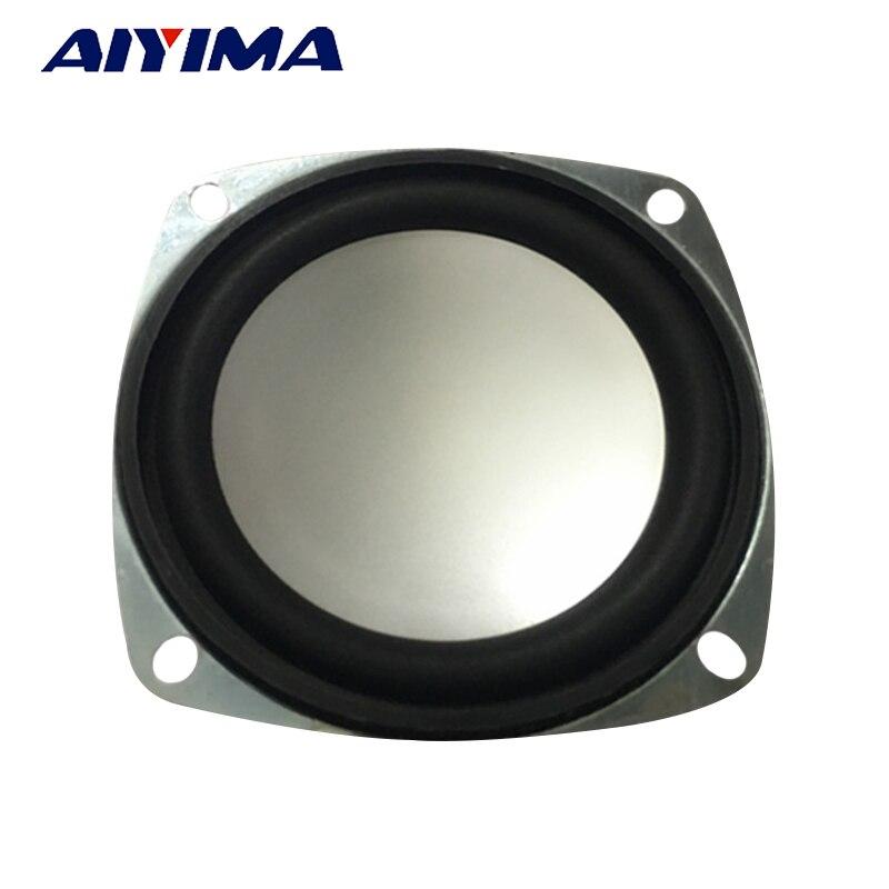AIYIMA 2Pcs 3Inch Audio Portable Speakers 4Ohm 3W Full Range Speaker For DIY Hom
