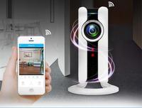720P Wireless Mini IP Camera 180 Degree Wide View Fisheye Panorama Security Video Surveillance Camera P2P