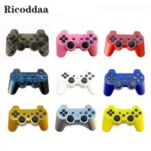 For Sony PS3 Wireless Bluetooth Game Controller 12 Colors For SIXAXIS PS3 Control Joystick Gamepad For PC Game Accessories
