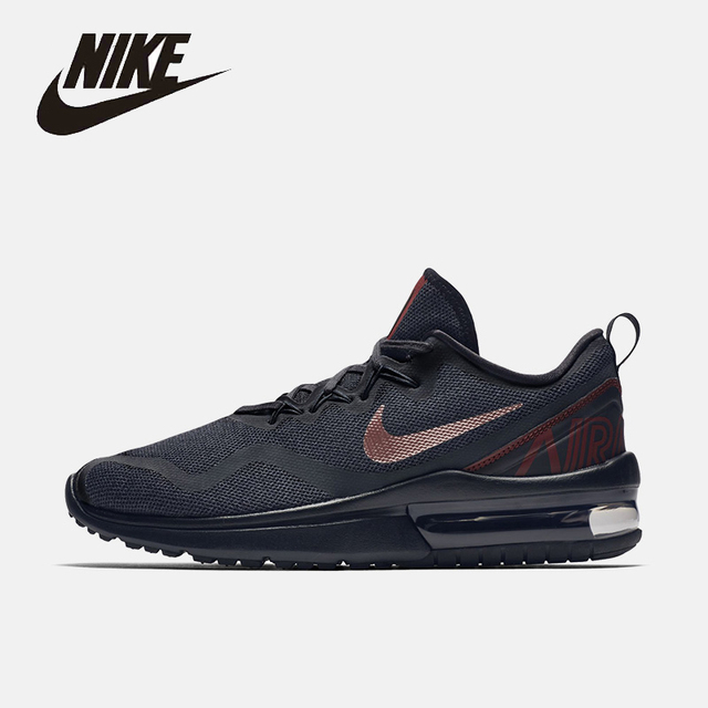 NIKE Original New Arrival AIR MAX FURY Mens Running Shoes Breathable  Footwear Super Light For Men