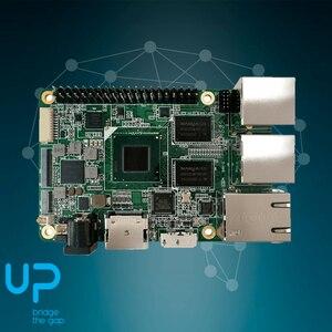 Image 3 - 1 قطعة x Up لوحة إنتل X86 حجم بطاقة الائتمان مجلس الكمبيوتر للصناع مع X5 8350 ذرة رباعية النواة