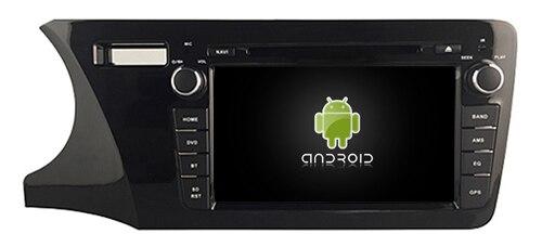 Подходит для города HONDA 2014 LHD OTOJETA android 8,1 Wifi автомобиля dvd плеер магнитофон gps BLUETOOTH головных устройств с белый свет
