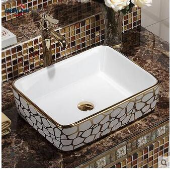 Exceptionnel Wei Yu The Stage Basin Square European Sinks Hands Pool Toilet Lavabo Art  Basin  In Bathroom Accessories Sets From Home U0026 Garden On Aliexpress.com |  Alibaba ...