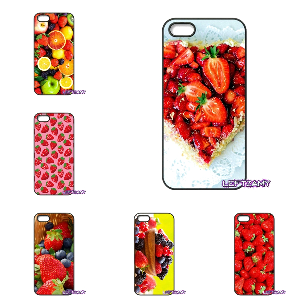 Summer Fruits Berries Hard Phone Case Cover For iPhone 4 4S 5 5C SE 6 6S 7 8 Plus X 4.7 5.5 iPod Touch 4 5 6