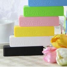 Caixa de Bateria Titular com Interface 18650 Caixa de Armazenamento Saída USB Colorido Mini Moda Portable Banco Potência
