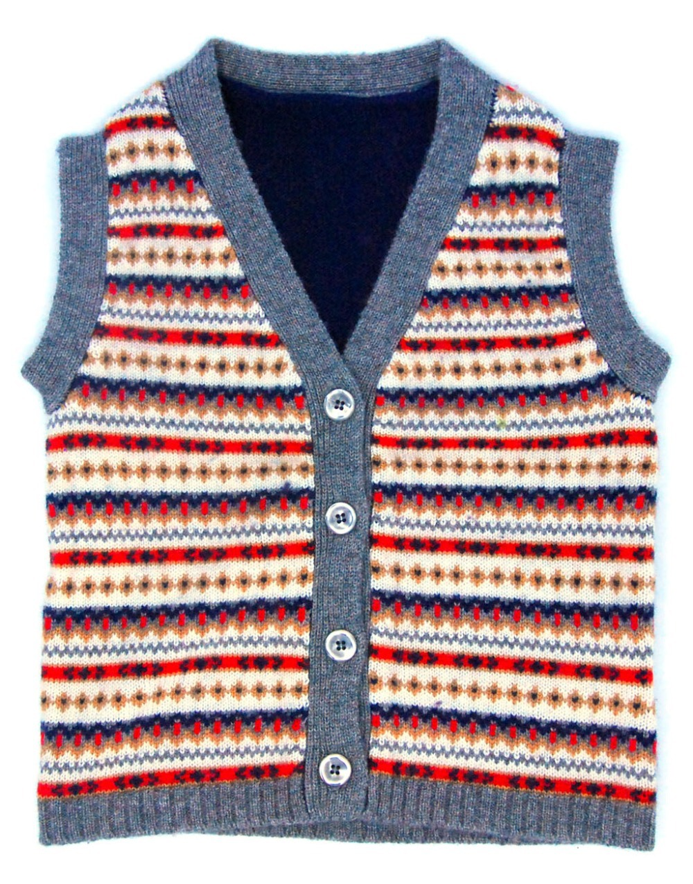 Children's Clothing Sweaters Cashmere Warm Soft Boys Cardigan Composition Dark Blue Sleeveless Waistcoat Vest Boy Italy Desig blue sky cashmere blue sky cashmere кашемировый кардиган с шелком 160842