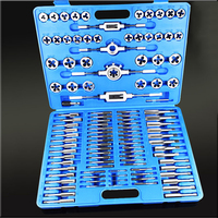 110PCS/Lot Screw Nut Thread Tap & Die Tool Set with Wrench Handle Heavy Duty Hand Tool Kit|Turning Tool|Tools -