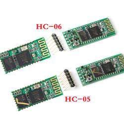 HC-05 HC-06 Bluetooth модуль мастер-раб интегрированный Bluetooth серийный сквозной модуль беспроводной Серийный для Arduino HC 06 05
