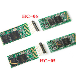 HC-05 HC-06 Bluetooth Module Master-slave Integrated Bluetooth Serial Pass-through Module Wireless Serial for Arduino HC 06 05