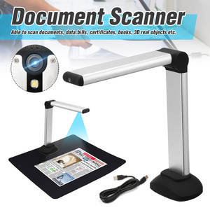 Scanner Book-Image Document-Camera Office School High-Speed Portable USB A4 with Library