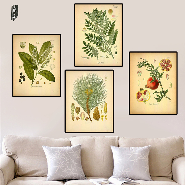 Fruit Canvas Painting Modular Wall Pictures Plant Wall Art Modern ...