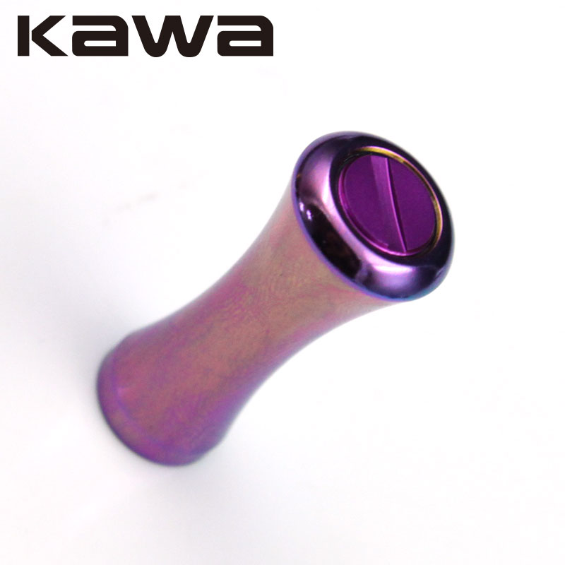 Kawa Fishing Reel Rocker Knob, Alloy Alluminum, Fishing Reel Accessory, Fishing Reel Handle Knob, Rainbow Color