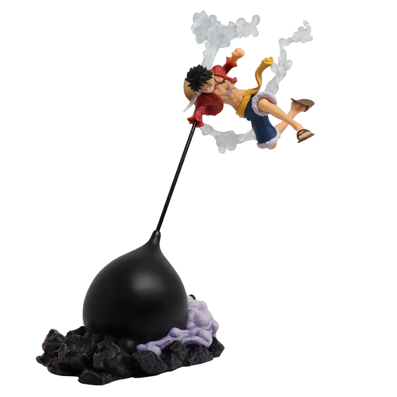 New 26cm Japan Anime One Piece Monkey D Luffy PVC Action Figure Collection Model Doll Figure Toy Model new hot 12cm one piece boa hancock monkey d luffy modelling action figure toys collection doll christmas gift with box