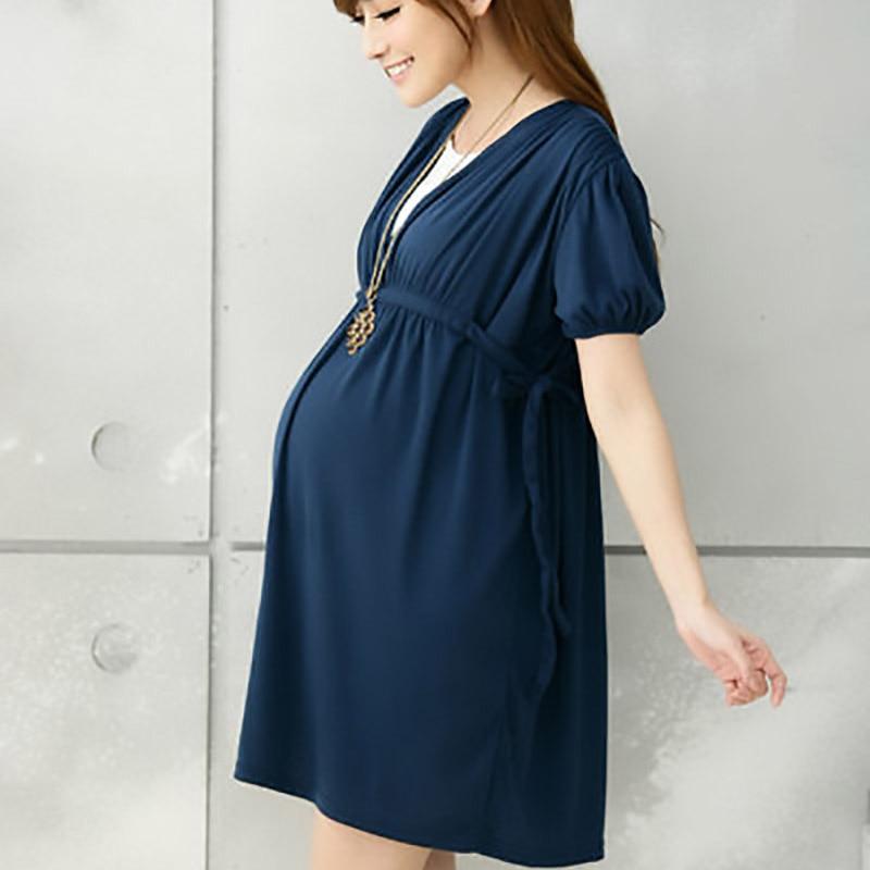 Aliexpress.com : Buy Maternity dress casual cotton maternity ...
