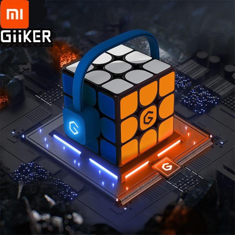Jouets intelligents de Puzzle de synchronisation d'app de Bluetooth de magie intelligente intelligente de Cube d'ai de Xiaomi Mijia Giiker i3s