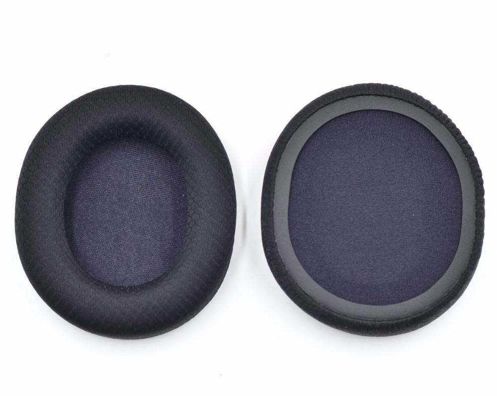 11 89 Coussin D Oreille En Tissu Noir Pour Casque Steelseries Arctis 3 5 7 In Ecouteurs From Electronique On Aliexpress