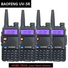 4PCS 136-174MHZ/400-520MHZ UV-5R BAOFENG
