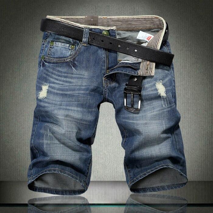 heren jeans bermuda