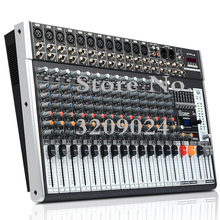 Professional 16 Channel  Bluetooth USB Mixer 99 DSP Digital Effect KTV Stage Performance Device Digital Effector