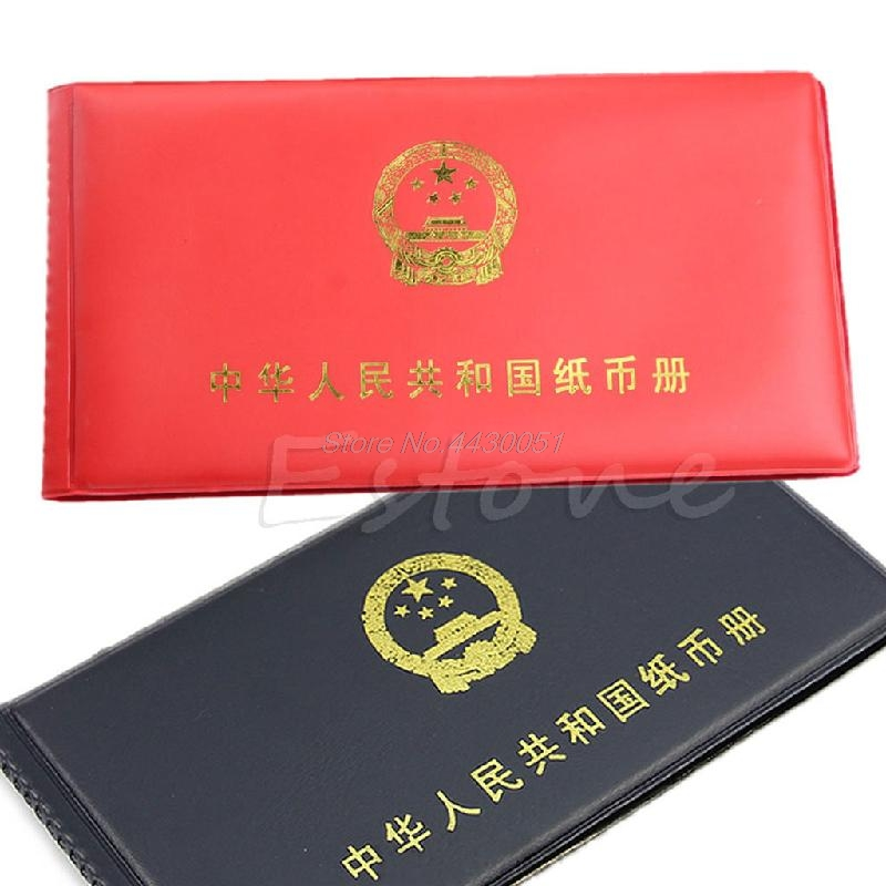 Paper Money Holders Storage Collection Pockets New Album Book Collecting Book Coin Holder Mini Hand Size Album Book image