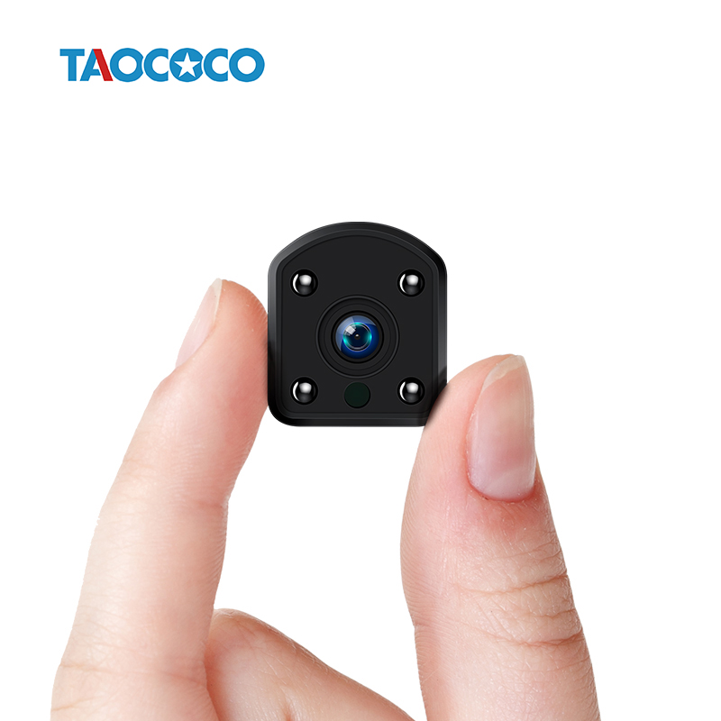 TAOCOCO HD Mini IP Camera WiFi 1080P Protable Security Camera Wireless IR Night Vision Car Surveillance Camera Built-in battery