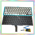 "Brand new Russian RU Keyboard with Backlight & keyboard screws & screwdriver tools for Macbook Air 11.6"" A1370 A1465 2011-15Year"