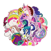 Colorful Cute Unicorn Stickers 30 pcs Set