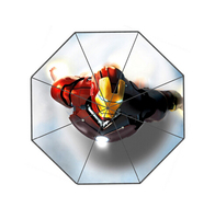 Superhero Iron Man Custom Fashion Design Umbrella For Man And Women High Quality Free Shipping Hot