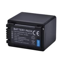 1Pc 3900mAh VW VBT380 VBT380 VW VBT190 VBT190 Battery For Panasonic HC V110 HC V130 HC