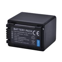 1Pc 3900mAh VW-VBT380 VBT380 VW-VBT190 VBT190 Battery for Panasonic HC-V110 HC-V130 HC-V160 HC-V180 HC-V201 HC-V250 HC-V260 cheap Batmax Camera Standard Battery VW-VBT380 VW-VBT190 Rechargeable Li-ion battery 3 6V