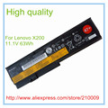 Original Laptop Batteries for  X200 X200S X201 X201S X201I battery 6-cell 11.1V 57WH 42T4648 42T4535