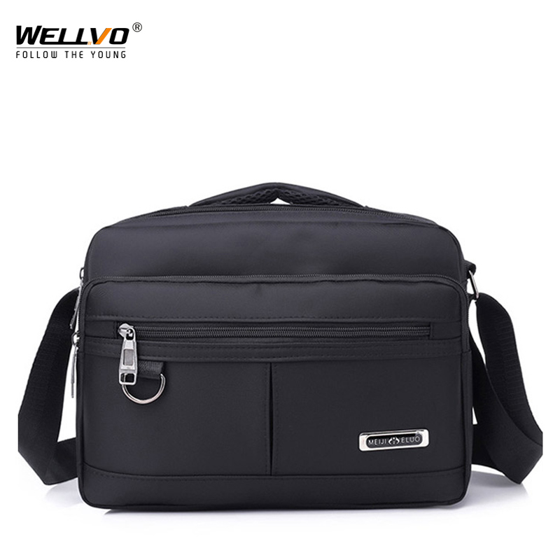 2019 Men Bag Fashion Men Crossbody Bags Multifunctional Nylon Shoulder Bag Waterproof Male Travel Casual Messenger Bags XA180ZC