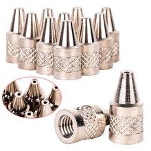10pcs Practical 1mm Metal Nozzle Iron Tip For Electric Vacuum Solder Sucker