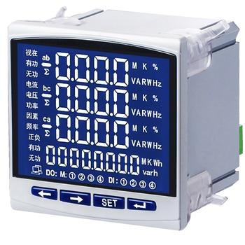 Compteur de Communication de fréquence 485 dénergie électrique monophasé multifonctionnel dinstrument de puissance électrique