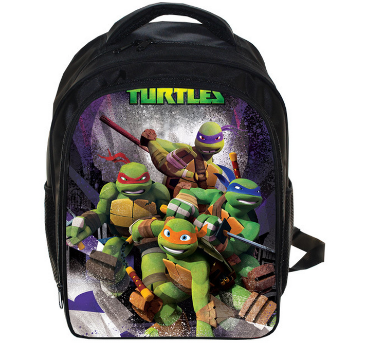 купить 13 Inch Ninja Turtles TMNT  School Bags for Kindergarten Children kids School Backpack for Girls Children's Backpacks Mochila онлайн