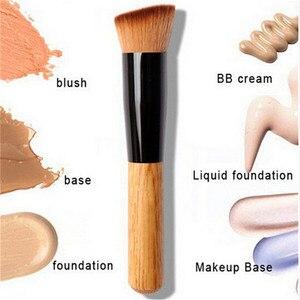 Image 1 - 2019 makyaj fırçalar pudra kapatıcı allık likit fondöten yüz makyaj fırçası araçları profesyonel güzellik kozmetik