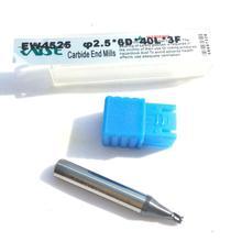 1,0 мм, 1,2 мм, 1,5 мм, 2,0 мм, 2,5 мм, 3,0 мм, вольфрамовые карбидные стальные концевые фрезы для станков для резки ключей, слесарные инструменты