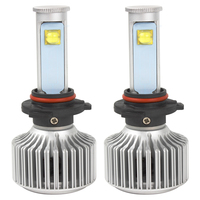 2pcs 9006 LED Car Headlight Car Styling Version Of X7 Super Bright 6000K 3600LM All In