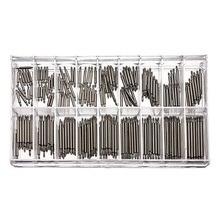 360pcs 8-25mm Watch Band Spring Bars Strap Link Pins Repair Watchmaker Link Pins Remove Toolsworldwise Top Quality ~M24