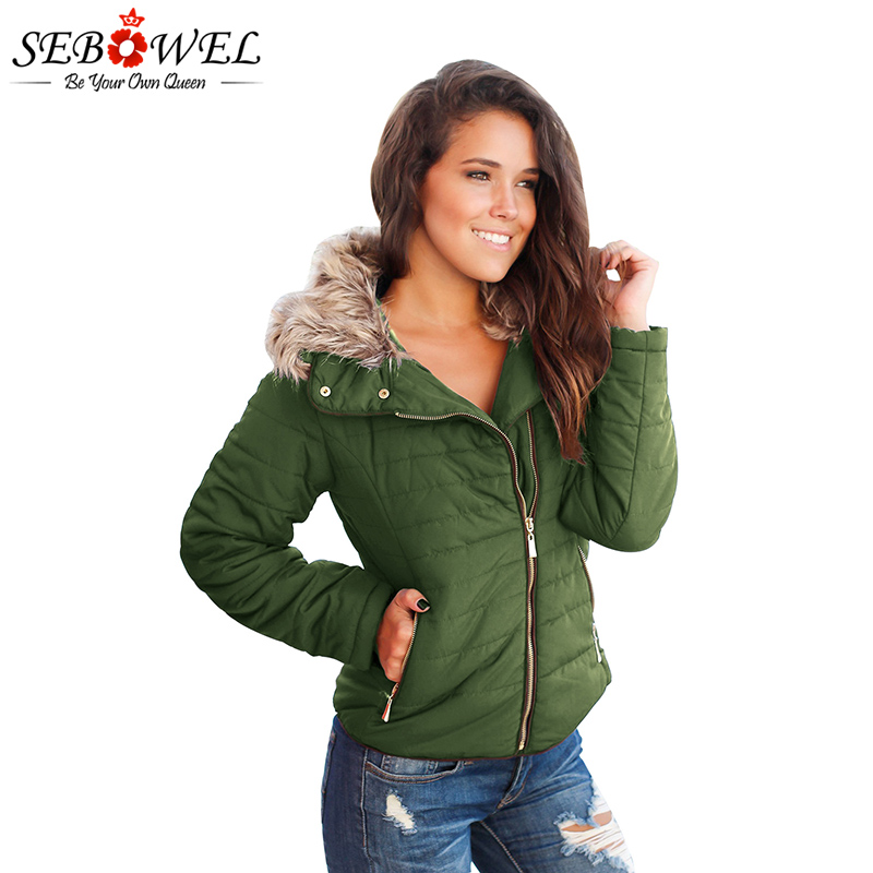 Femmes Green Velours Chaud Mince Sebowel D'hiver Faux Manteau Noir Vêtements Automne La Plus Armée Outwear army Courte Femelle Veste Hiver Vert Taille Fourrure marron 6qEwgC